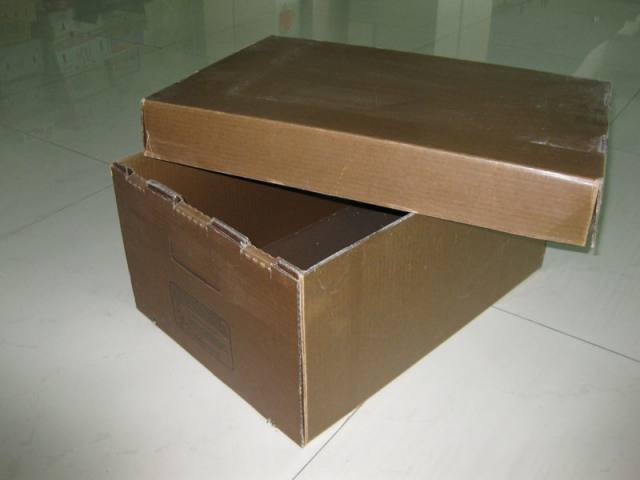Waxed Carboard Box