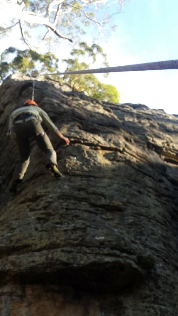 Abseil and Rock climbing in Nowra