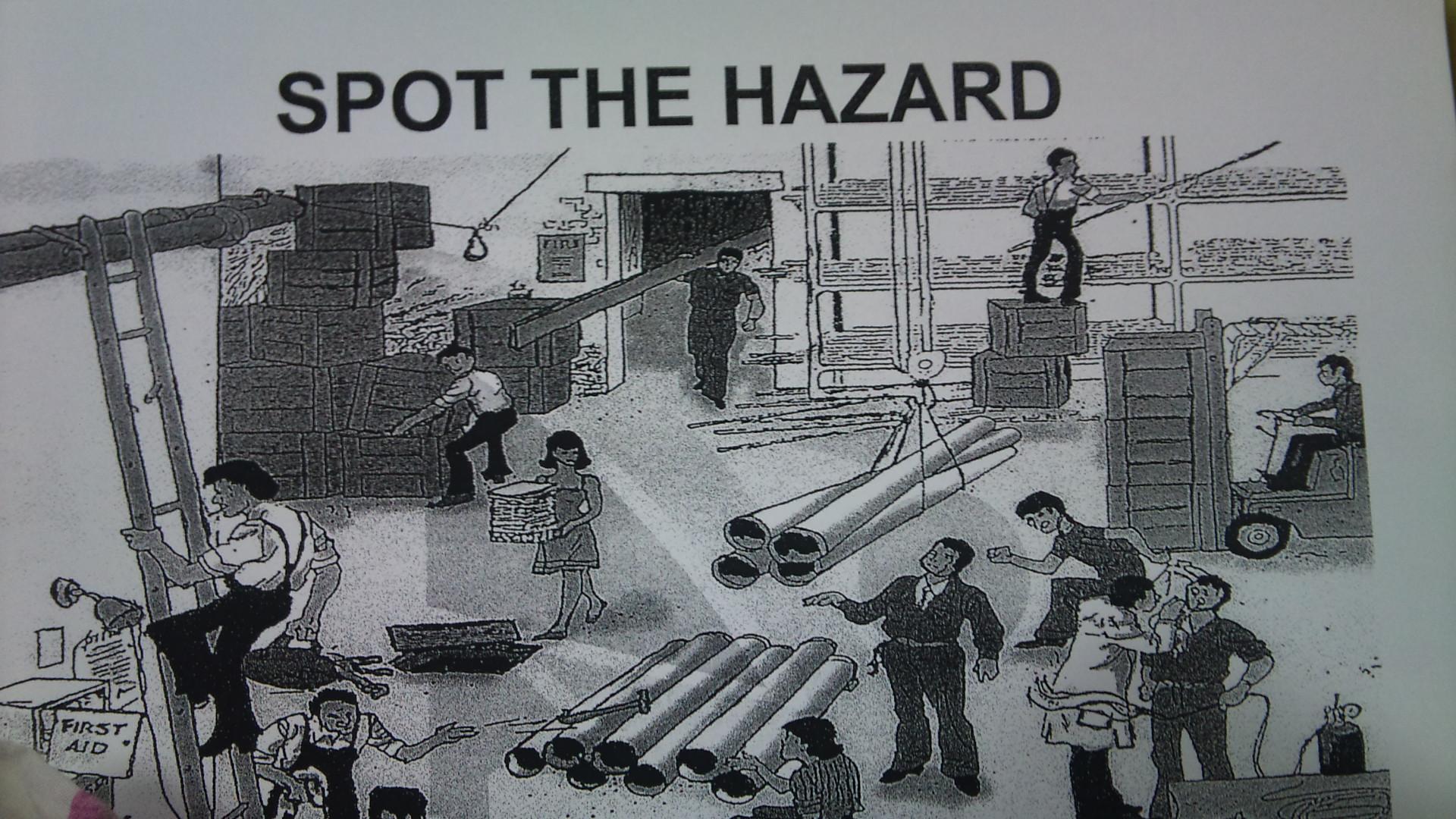 Spot The Safety Hazard Game