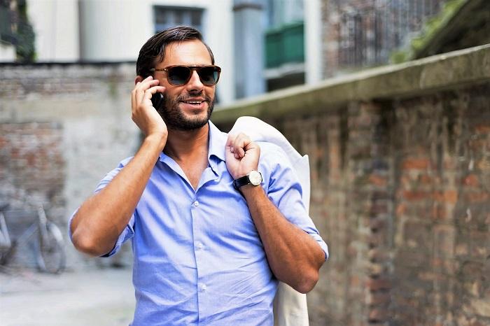 Sleeve7 bietet mit ihren extralangen hemden und T-Shirts die perfekte Mode für große Männer. Mode große Männer par excellence.