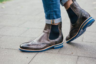 Angesagte Chelsea Herren Boots von Melvin and Hamilton. Perfekt für jeden Business Look.