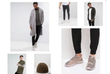 Cooler Herren Mantel in grau. Perfekt für Business Looks oder Street Looks für Männer.