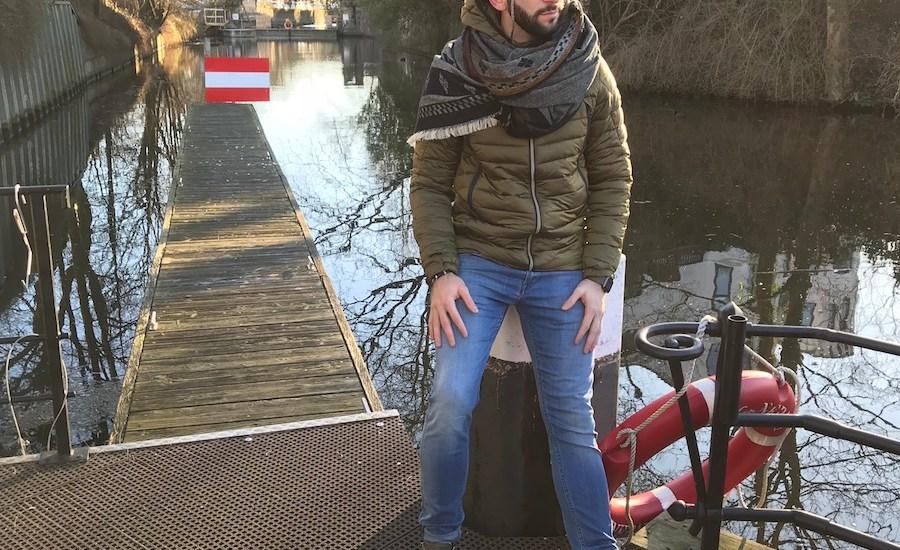 Männer lightweight jacket. der perfekte Street Look für Männer