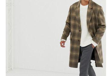 Schöne Herren Übergangsjacke für den Frühling. Der perfekte Männer Wollmantel.