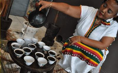 Cérémonie du café éthiopien
