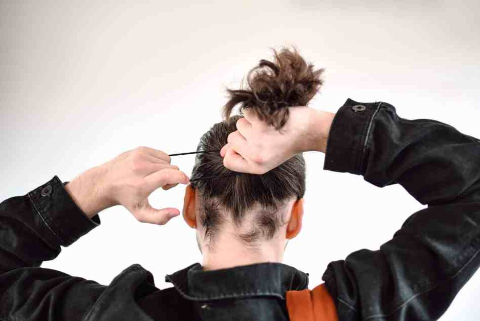 tight hairstyle for guys at night