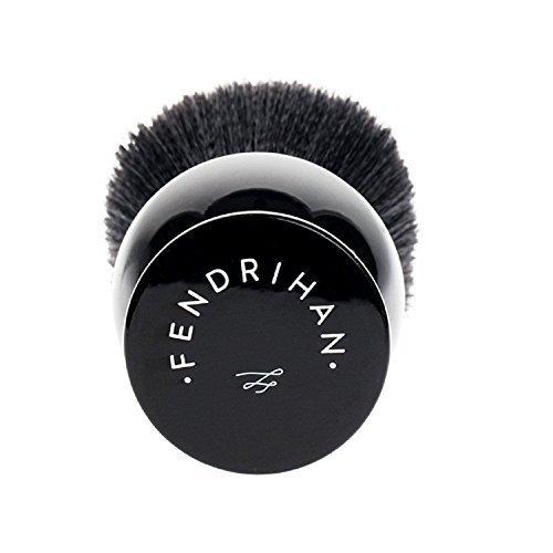Fendrihan Black and White Synthetic Shaving Brush