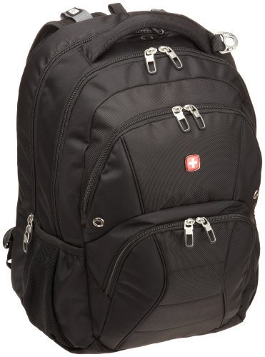 Swiss Gear Black TSA Friendly ScanSmart Laptop Backpack