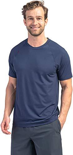 Rhone Reign Short Sleeve Nylon Workout Shirt