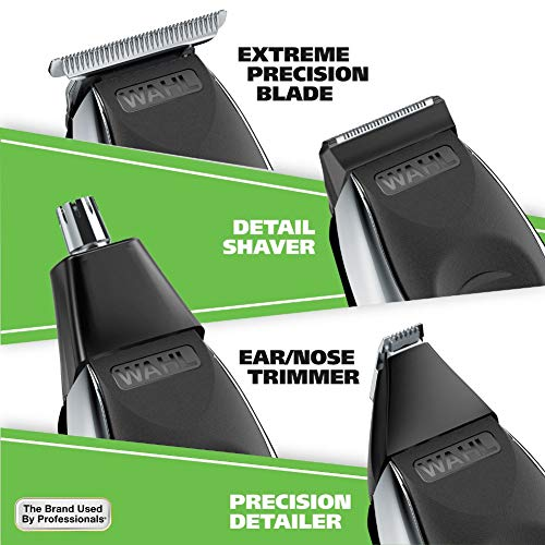Wahl Aqua Blade Rechargeable Wet Dry Deluxe Trimming Kit