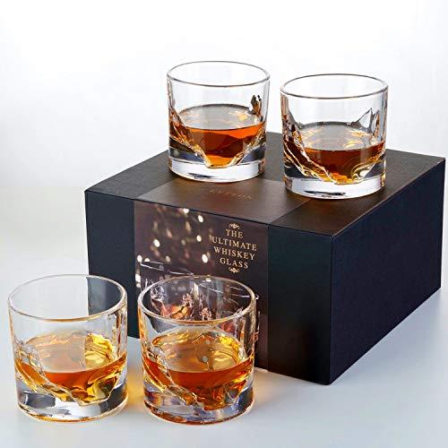 Liiton Mountain Whiskey Glass Set of 4
