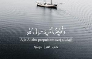 Allahu prepustam svoj slucaj
