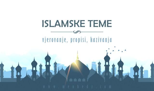 islamski tekstovi, kazivanja