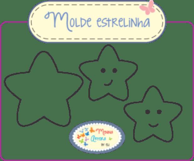 Molde Estrelinha