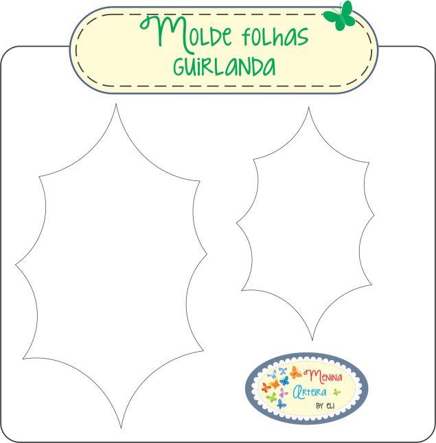 molde-folhas