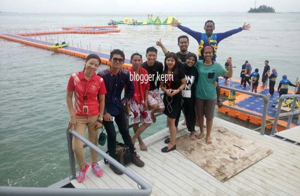 Floating Water Park Sea Forest Adventure Batam