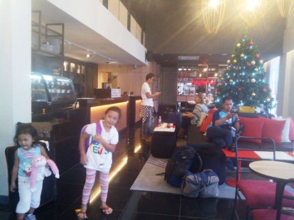 Lobi Avenue J Hotel, Kuala Lumpur.