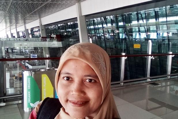 Bagian teras terminal keberangkatan T3. Foto by menixnews.com