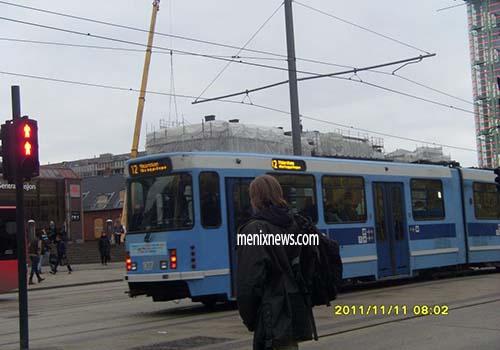 Monorail di Oslo.