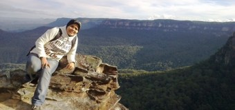 Menjelajah Tanah Aborigin  in The Great Blue Mountains Australia