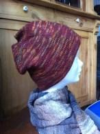 Mütze aus Mirasol Garn, Schal aus Regia Twist