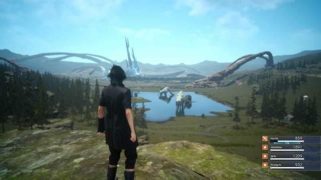 首次見到湖中巨獸的時刻,令人十分震憾。