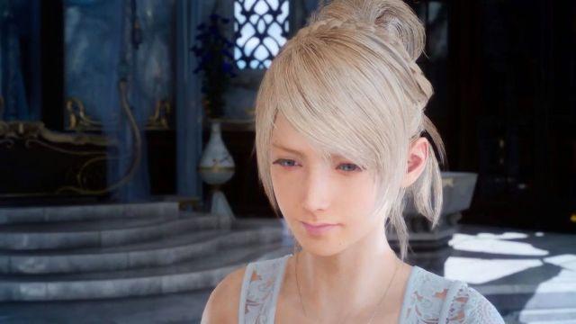 遊戲中的女主角露娜(Luna),非常關鍵的角色,也許還是FF系列中最美麗的角色。