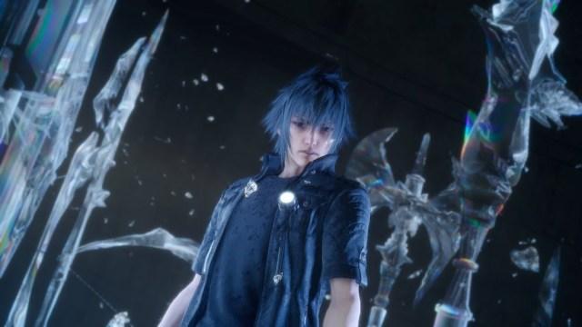 今集故事主角諾克特(Noct),擁有王家血脈,能使用多種幻影武器。
