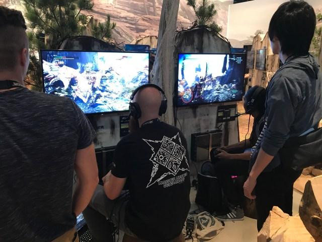 Gamescom 2017 現場全球首試Monster Hunter World