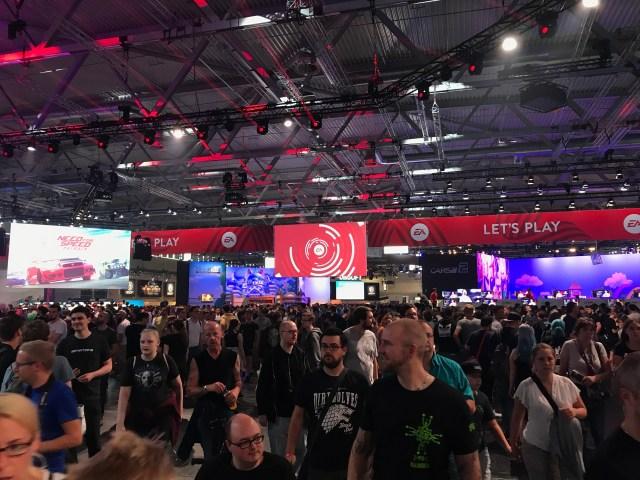 Gamescom 2017 入場人數突破歷年紀錄!滿滿都是人!!