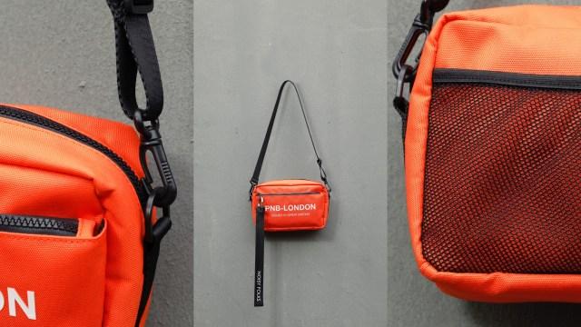 「PNB-05」以多重間隔設計,設有內袋及插筆位等,相當實用,同時保留Noisy Folks標誌性吊帶。$399