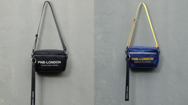 除橙色外,亦有藍黃色及全黑色,勢必引起另一波Messenger Bag熱潮。各$399
