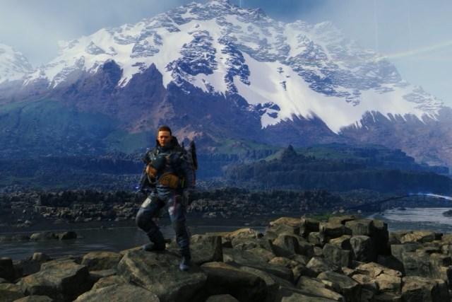 別懷疑,那雪山絕對不是背景。因為這遊戲看到的地方幾乎都能一步一步走過去,上山之前不妨拍個照