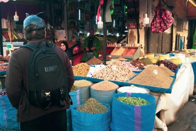 傳統的阿拉伯市場,香料的價格非常廉宜,大概就是香港的十分之一左右。