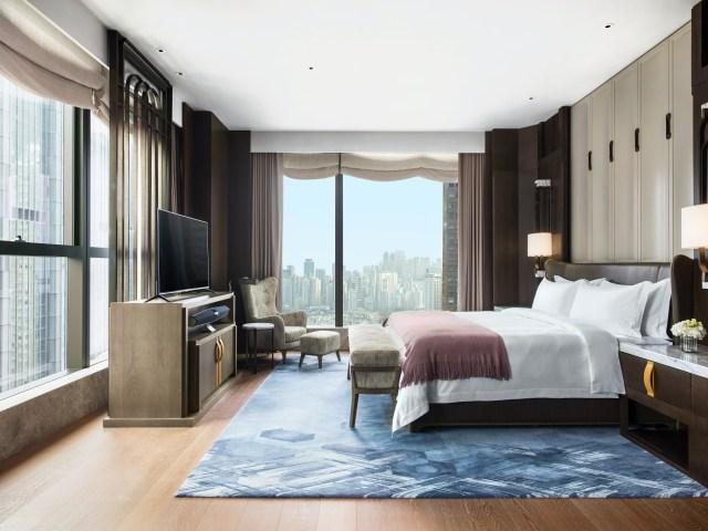 St.RegisHK Governor's Suite Bedroom