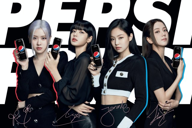BLACKPINK 成 Pepsi Black 全新代言人