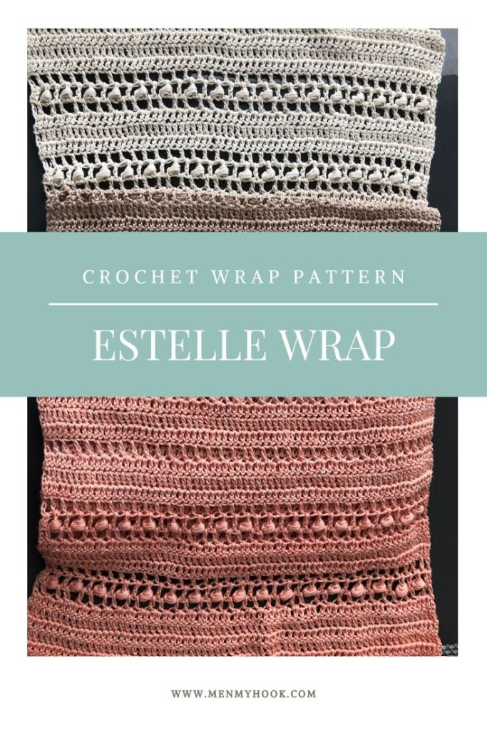 Estelle Wrap Crochet Shawl Pattern