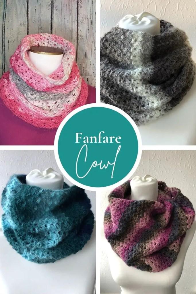 Fanfare Cowl - FREE cowl pattern