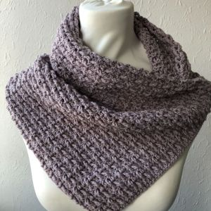 Marian Bay Cowl Pattern ad free pdf download