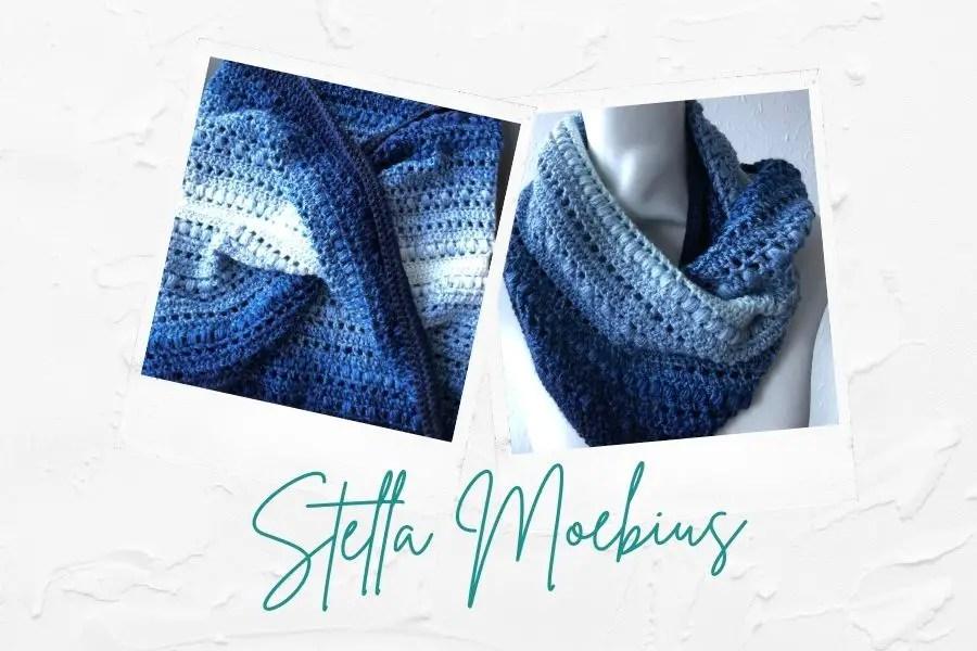 Intermediate Crochet Cowl - Stella Moebius