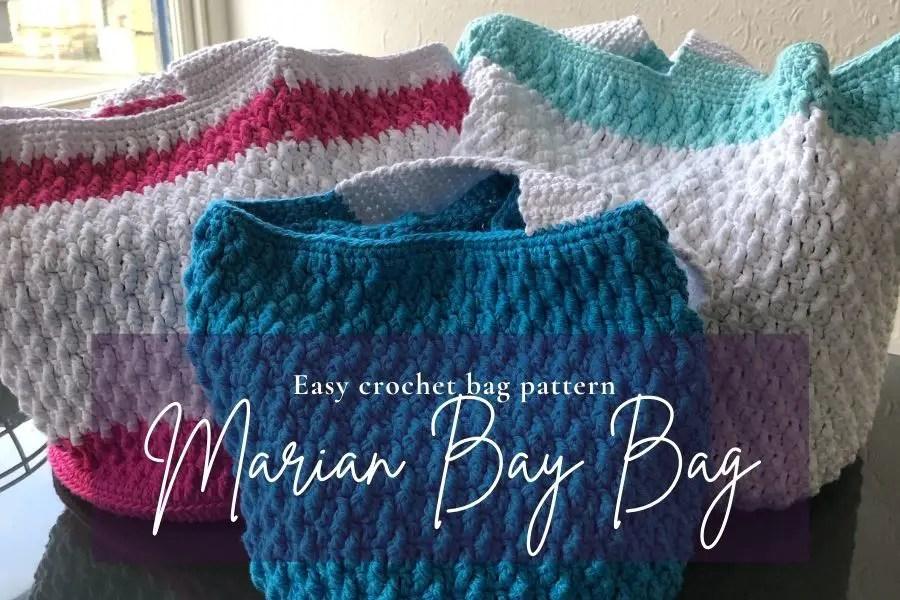 Easy women's crochet handbag pattern