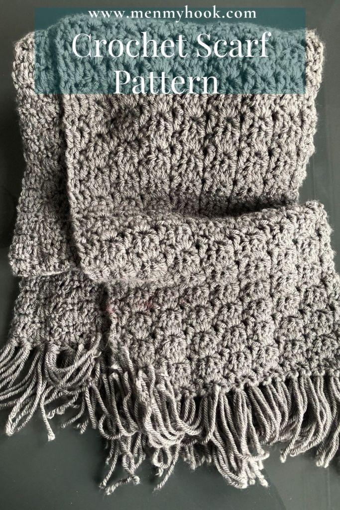 Free easy crochet scarf pattern