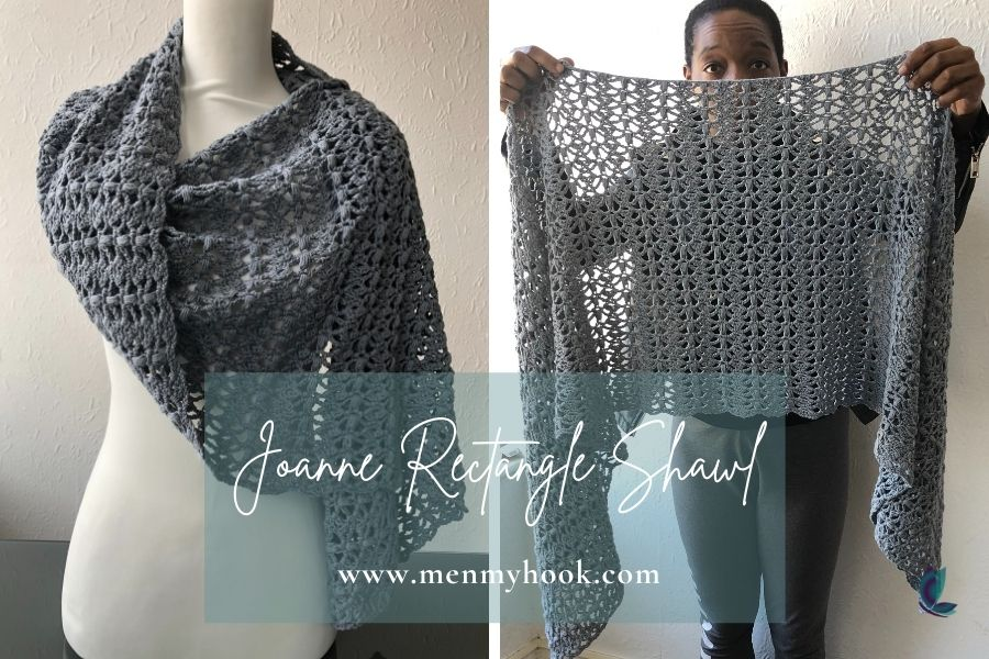 Joanne Rectangle Shawl pattern