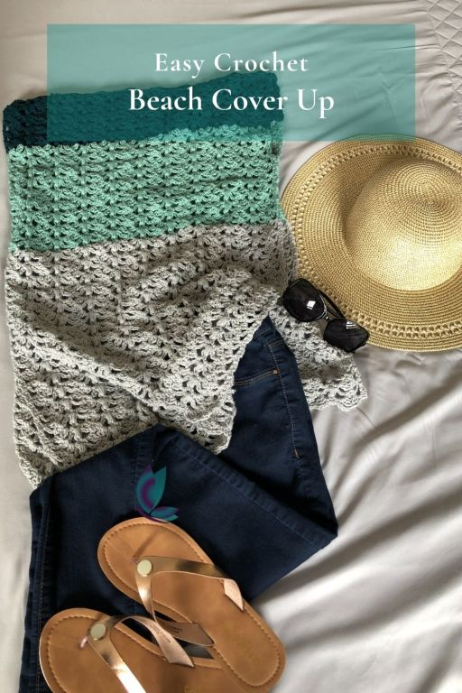 Crochet Beach Cover Up Pattern - Split Decision Tunic