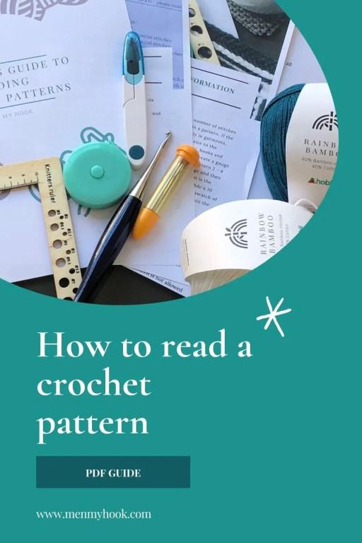 Beginner guide to reading crochet patterns
