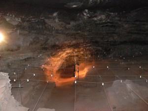 Udgravningerne i Wonderwerk-hulen, Sydafrika.