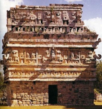 Mayatemplet Chichén Itzá, Yucatan, Mexico.