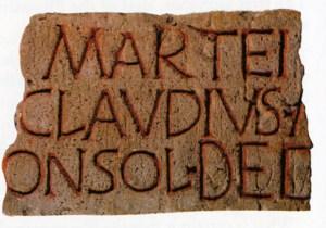 Latin (romersk) skrift. 3. årh. evt.