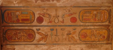 Hieroglyffer, Karnak, Luxor.