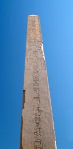 Obelisk fra Karnak, Luxor.